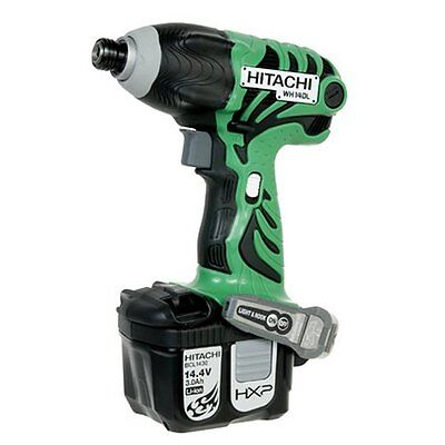 New Hitachi - Wh14Dl - 14.4V Lithium Ion Cordless Impact Driver