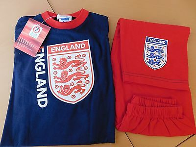 JOB LOT X24 ENGLAND BOYS PJ SETS AGE 18-24 MONTHS bnip's