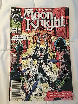 MOON KNIGHT : FIST OF KONSHU 1 - First Issue! Marvel Comics 1985 *no reserve*