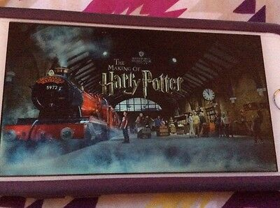 Harry Potter Studios London Tour - 2 Tickets 3rd July