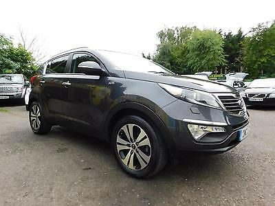 2014 Kia Sportage Crdi Kx-3 Pan Roof+Cruise+Full Heated Leather Estate Diesel