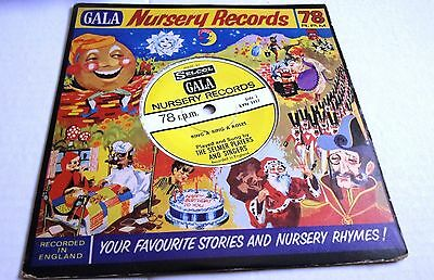 GALA NURSERY RECORD HAPPY BIRTHDAY SONG  c/w RING A RING A ROSES 78RPM 7inch NM