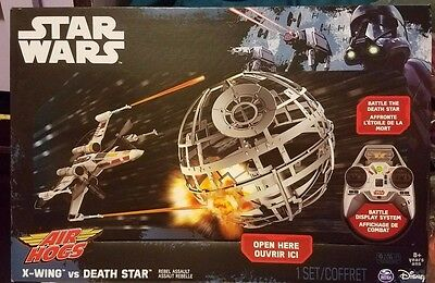 Air Hogs Star Wars X-Wing vs Death Star Rebel Assault RC Drone Remote Control