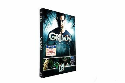 Grimm Season 6 (DVD, 2017, 4-Disc Set)