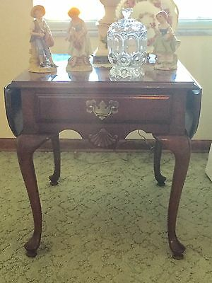 Pair Of American Drew Cherry End Tables