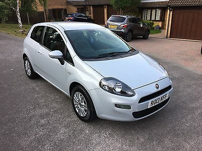Fiat Punto Easy 1.4, Pearl White, Start/Stop