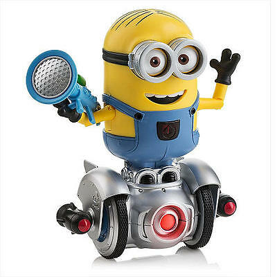 Despicable Me Minion MiP Interactive Turbo Dave Self Balancing Robot Kids Toy