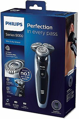 Philips Series 9000 Wet & Dry Men's Shaver S9211/12 with Precision Trimmer *NEW*