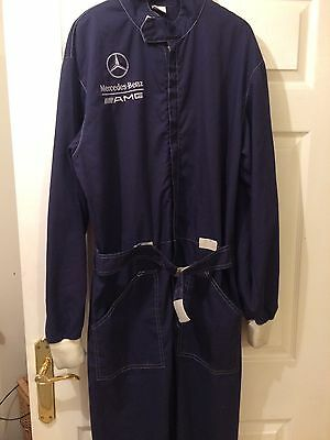 Mercedes AMG Stand 21 Race Suit Mechanic Overalls