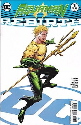 Aquaman Rebirth #1 (2016) Variant 1st Print NM