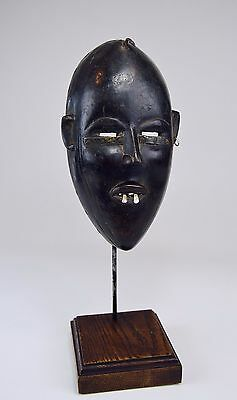 A Very Rare Old Dan Bassa African Mask, African Art