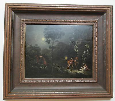 18 / 19th C. ANTIQUE Oil Painting Unknown Artist