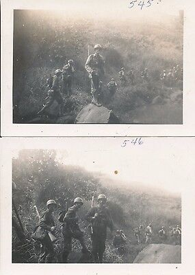 1940s WWII US Artillery GI's mountain march full gear Hawaii 2 more photos