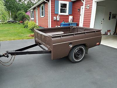 Utility Trailer with Pickup Truck Body