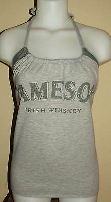Party Girl Reconstructed Jameson Irish Whiskey Drinking Shirt Swag Halter Top