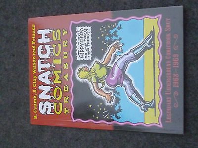 Snatch Comic Treasury Legendary Comicbook Smut 1968-68 - R.crumb S. Clay Wilson