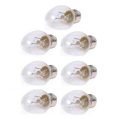 25 Watt Clear Bulbs - 7 Pack ( for Large Lamps)