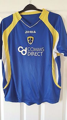 Mens Football Shirt - Cardiff City FC - Home 2007-2008 - Joma - Blue - Wales