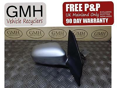 Honda Civic Right Driver Offside Electric Door Wing Mirror Silver 2001-2006§