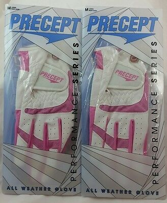 Two (2) Precept Performance Series All Weather Gloves Women's Medium Right Hand
