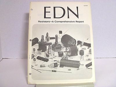 Resistors-A Comprehensive Report 1966 Reprint by EDN Magazine