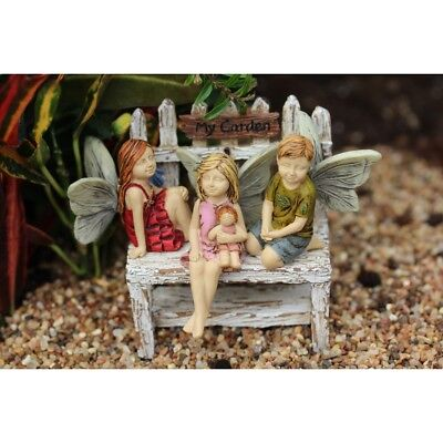 My Fairy Gardens Mini - Little Trio - Set of 3 (No Bench) - Supplies Accessories