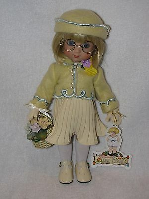 """10"""" Mary Engelbreits Ann Estelle Doll By Tonner Dressed In May Day Yellow Dress"""