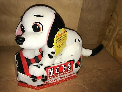Disney's 101 Dalmatians MY VERY OWN PUPPY Plush VINTAGE NEW RARE
