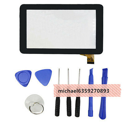 Touch Screen Digitizer For 7 Inch RCA VOYAGER RCT6773W22 RCT6773W2 +Tools Mic