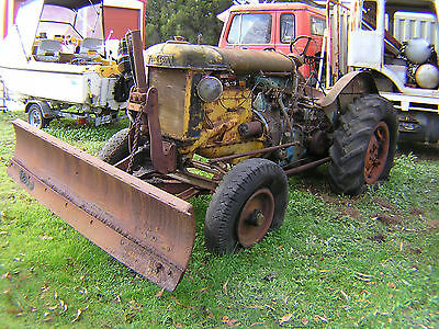 Fordson Major E27N with front dozer blade