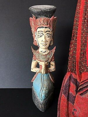 Old Javanese / Balinese Wood Carving …beautiful collection item great patina