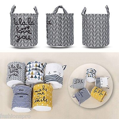 Guapabien Foldable Water Resistant Large Capacity Clothes Storage Laundry Basket