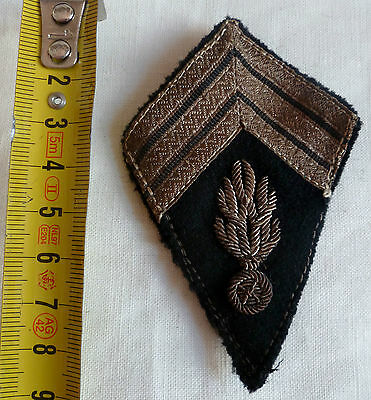 Insigne Losange tissu patch type 1945 GENDARMERIE INDOCHINE AFN ORIGINAL 3