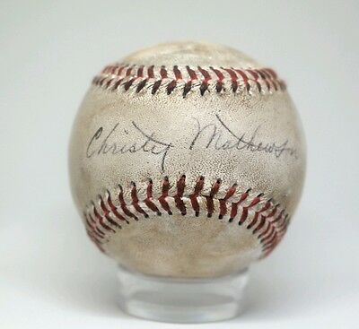 Christie Mathewson Autographed Replica/Novelty 1910 Style Baseball