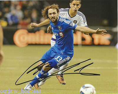 Montreal Impact Marco Donadel Autographed Signed 8x10 Photo COA B
