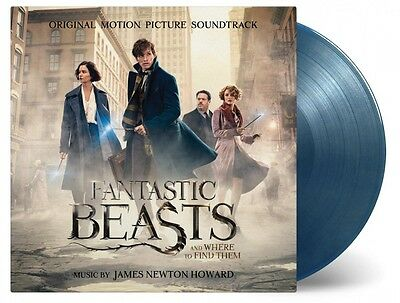 Fantastic Beasts And Where To Find Them 2x 180g COLOURED vinyl LP Harry Potter