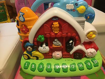 Chicco Talking Farm Light And Sounds Bilingual