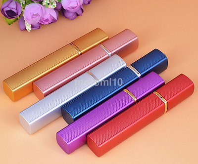 Portable 12ml Travel Aluminum Refillable Atomizer Mini Spray Perfume Bottle UK