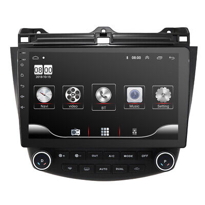 "10.1"" Android 9.1 Car Radios GPS Navigation Stereo Wifi for Honda Accord 7 03-07"