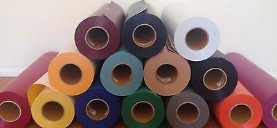 """Flock Heat Transfer Vinyl  Easy Weed Size 20"""" X 12"""" 14 Colors to choose  from"""