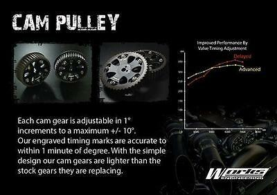 NEW Works Engineering Cam Gear Pulley Fixs Corolla Levin Trueno AE86 4AGE 16V