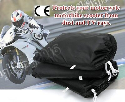 Motorcycle Cover Cruisers Tour Bike Protector Dust Rain Waterproof L-XXL ZM3BS