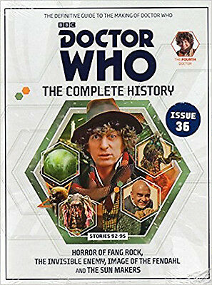 Doctor Who: The Complete History issue 36 - stories 92-95, various, New Book