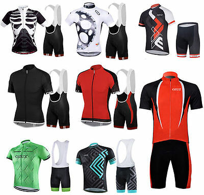 Cycling Jersey & Shorts Sets Short Sleeve Cycling Clothing Qucik Dry Breathable