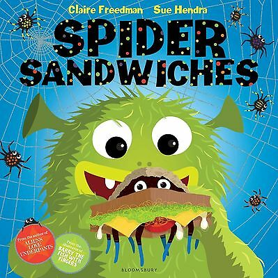 Spider Sandwiches by Claire Freedman BRAND NEW BOOK (Paperback, 2013)