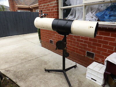 Hand Made Large Deep space  f/6 200mm  / 1200 mm REFLECTOR TELESCOPE
