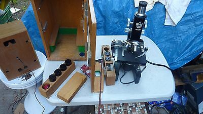 Union 34245  electric Microscope Japan