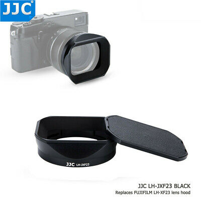 JJC Metal Lens Hood with Cap for Fujifilm Fujinon XF 23mm F1.4 R as Fuji LH-XF23
