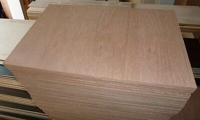 10 NEW pieces of 18mm Premium Quality Marine Ply 29½in x 19in  (750mm x 480mm)