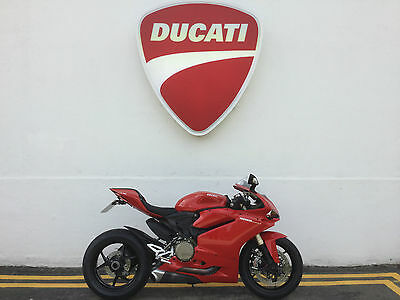 2015 Ducati 1299 Panigale Red